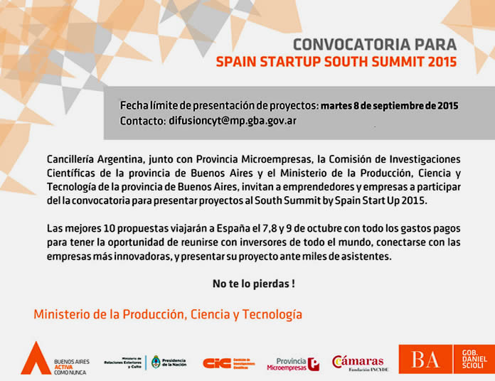 Convocatoria Start Up