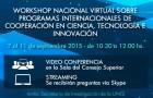 Imagen sobre Workshop Nacional Virtual sobre Programas Internacionales de Cooperación en Ciencia, Tecnología e Innovación