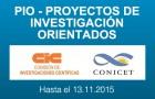 Imagen sobre Convocatoria a Proyectos de Investigación Orientados – PIO