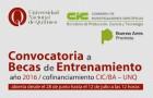 Imagen sobre CONCURSO DE BECAS DE ENTRENAMIENTO COFINANCIADAS 2016