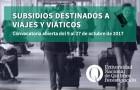 Imagen sobre Convocatoria para el financiamiento de viajes y viáticos para investigadores en formación (VIEF-2017)