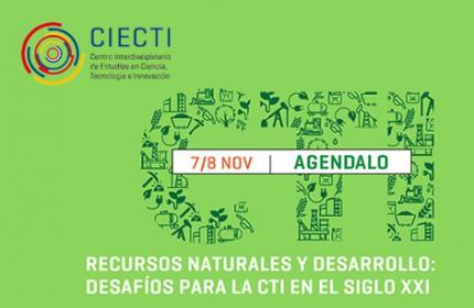 """Imagen sobre Seminario Internacional """"Recursos naturales y desarrollo: desafíos para la CTI en el siglo XXI"""""""