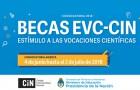 Imagen sobre Becas EVC-CIN 2018