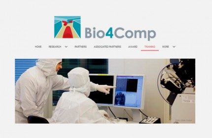 Imagen sobre Training on network-based biocomputation