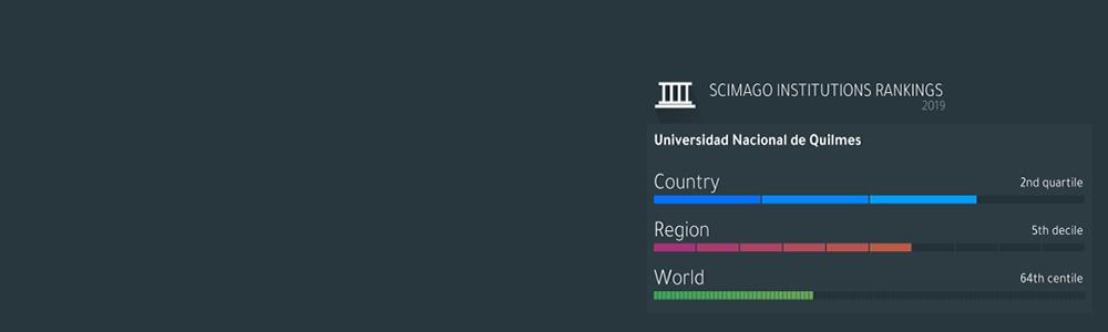 La UNQ 5º en el Ranking SCIMAGO