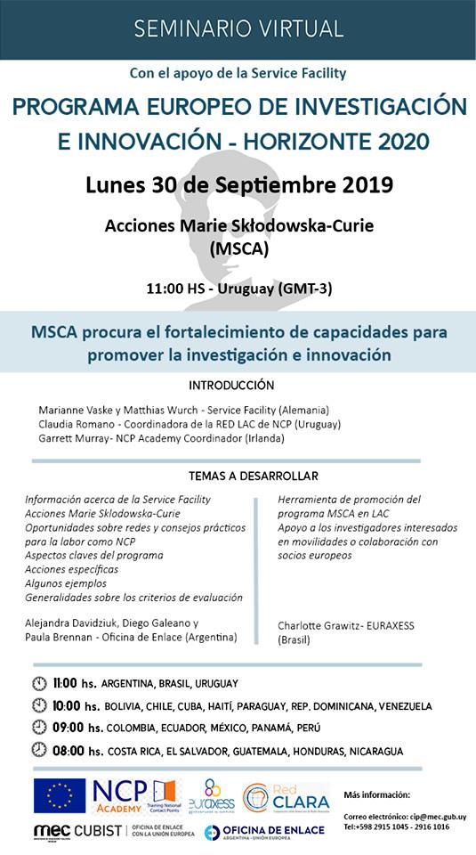 Seminario MSCA