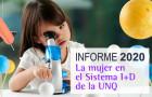 Imagen sobre Participación de la mujer en el Sistema de I+D de la UNQ – Informe 2020