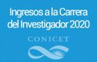Imagen sobre Convocatoria a Ingresos a la Carrera del Investigador 2020